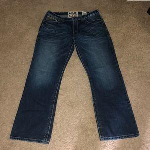 Men's Ariat M4 jeans size 34x32